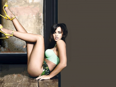 Georgia May Foote - legs, bra, magazine, model, cover, panties, beautiful, sexy, heels, British, Georgia, actctress, Foote, 2019, wallpaper, Georgia May Foote