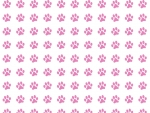 Baby Pink Paw Print Texture