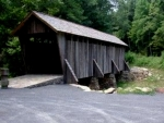 Covered Bridge In W. Virginia