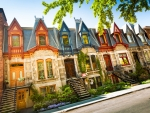 Row of Houses in Montreal