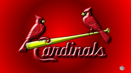St Louis Cardinals 3 D Birds Baseball Sports Background