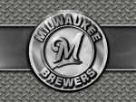 Milwaukee Brewers steel circle