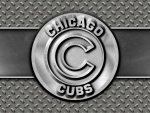 Chicago Cubs steel circle