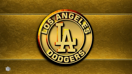 La Dodgers Gold Logo Baseball Sports Background Wallpapers On Desktop Nexus Image 2497524