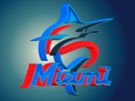 Miami Marlins 3D Logo