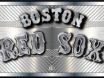 Boston Red Sox Chromed steel