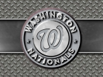 Washington Nationals steel circle