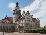 Town Hall in Saxony, Germany