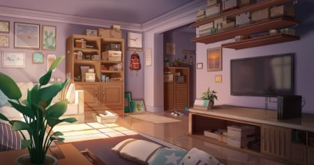 Anime Room Other Anime Background Wallpapers On Desktop Nexus Image 2498069