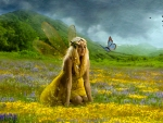 Fairy in Flowerfield