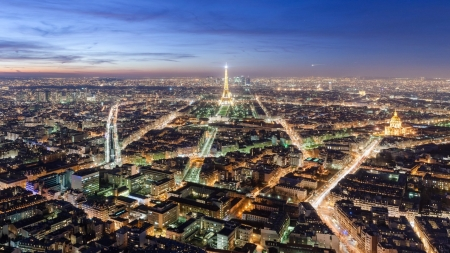 Beautiful City Of Paris Sunsets Nature Background Wallpapers On Desktop Nexus Image 2498638