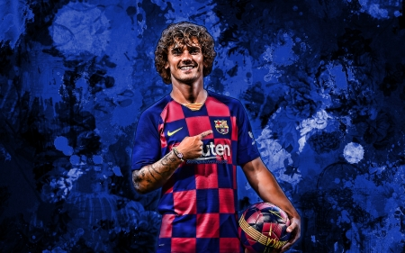 Antoine Griezmann Soccer Sports Background Wallpapers On