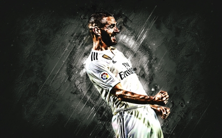 Karim Benzema - benzema, karim benzema, soccer, sport, real madrid, french, football