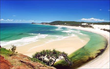 SUNNY BEACH - africa, widescreen, beach, sunny