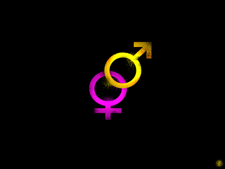 Genders - logo, genders, sher ali, sex, sexuality, original, male, gender, sexual, girl, boy, ali, female, sher