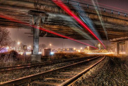 Railroad Tracks - railroad, rail, tracks