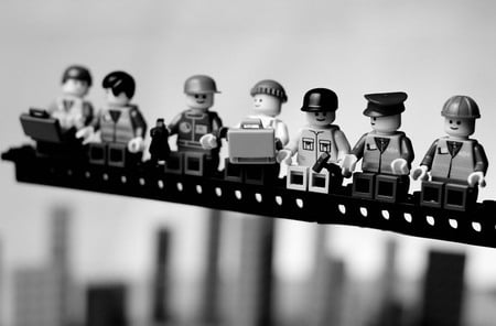 Lego Men - lego, men, construction
