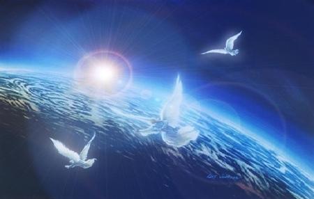 Earth Angels Sky Nature Background Wallpapers On Desktop Nexus