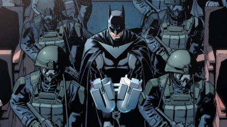 Batman - Batman, comics, illustration, dc comics