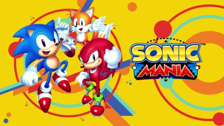 Sonic Mania Other Video Games Background Wallpapers On