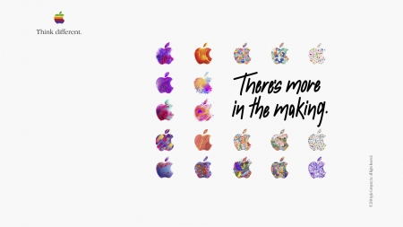 Apple WallPaper - There's more in the making - campaign, apple, there is more in the making, wallpaper