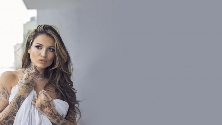Katherine Flores Models Female People Background