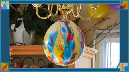 Party Balloon Decor : ) - blue, balloons, red, balloon, purple, decoration, yellow