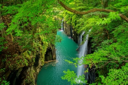 Japanese River Rivers Amp Nature Background Wallpapers On