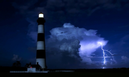 Bodie Island Lighthouse, Nags Head,N.C