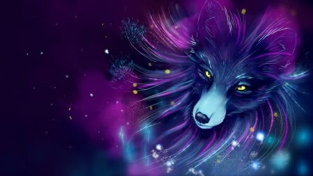 Fox Fantasy Abstract Background Wallpapers On Desktop