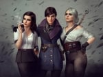 Elizabeth, Emily Caldwin and Ciri