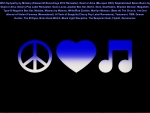 Peace, Love, Music Music Music