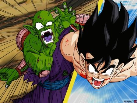 Jr Vs Goku Final Fight Dragonball Anime Background