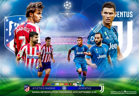 Atletico Madrid Juventus Soccer Sports Background Wallpapers On Desktop Nexus Image 2507172