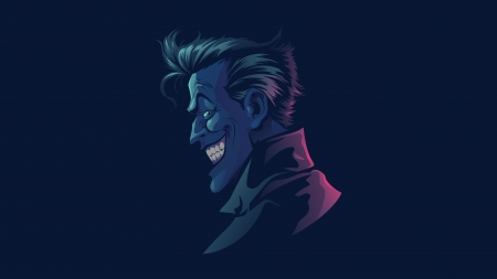 Joker - comics, illustration, joker, dc comics, profile