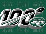 New York Jets NFL 100 years logo
