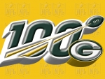 Green Bay Packers NFL 100 years logo