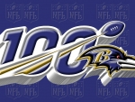 Baltimore Ravens NFL 100 year Logo