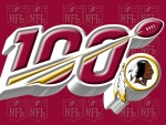 Washington Redskins NFL 100 year logo