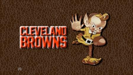 Vintage Cleveland Browns Elf Logo Football Sports