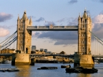 Famous London Tower Bridge
