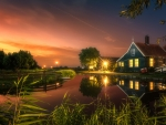 Evening in Netherlands