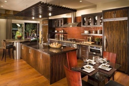 Tuscan Style Kitchen - Home Style, Kitchens, Interior Design, Architecture