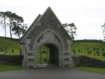 Curragh Cemetary entrance
