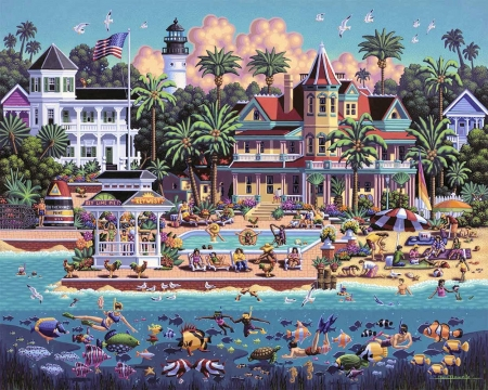 Key West 3d And Cg Abstract Background Wallpapers On
