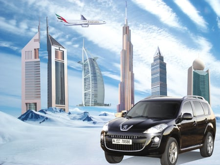 Peugeot 4007 - french, emirates, dubai, bluebird, dxb, cold, europe, car, bloshi, peugeot, sports, 4007, automobiles, uae, vehicles, balochistan, aeroplane, baloch, winter, lion, aircraft, airline, france, snow, irfan, balochsaab