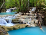 Beautiful Creek Waterfalls