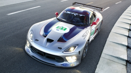 Dodge Viper Coupe - dodge viper, Dodge Viper Coupe, dodge, cars, vehicles, gray cars