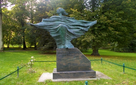 Chopin Monument in Krakow - Krakow, Poland, Chopin, sculpture, monument