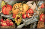 Welcoming Fall Pumpkins